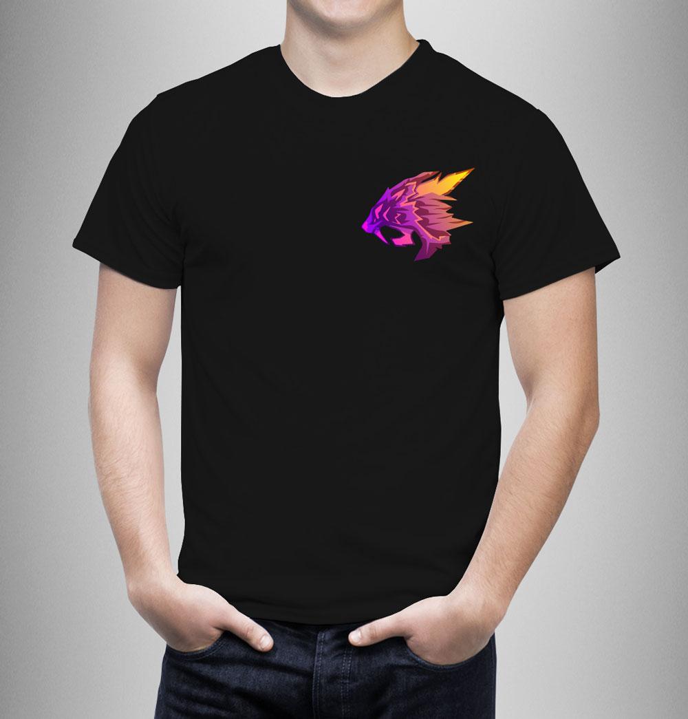T-Shirt Logo Viola